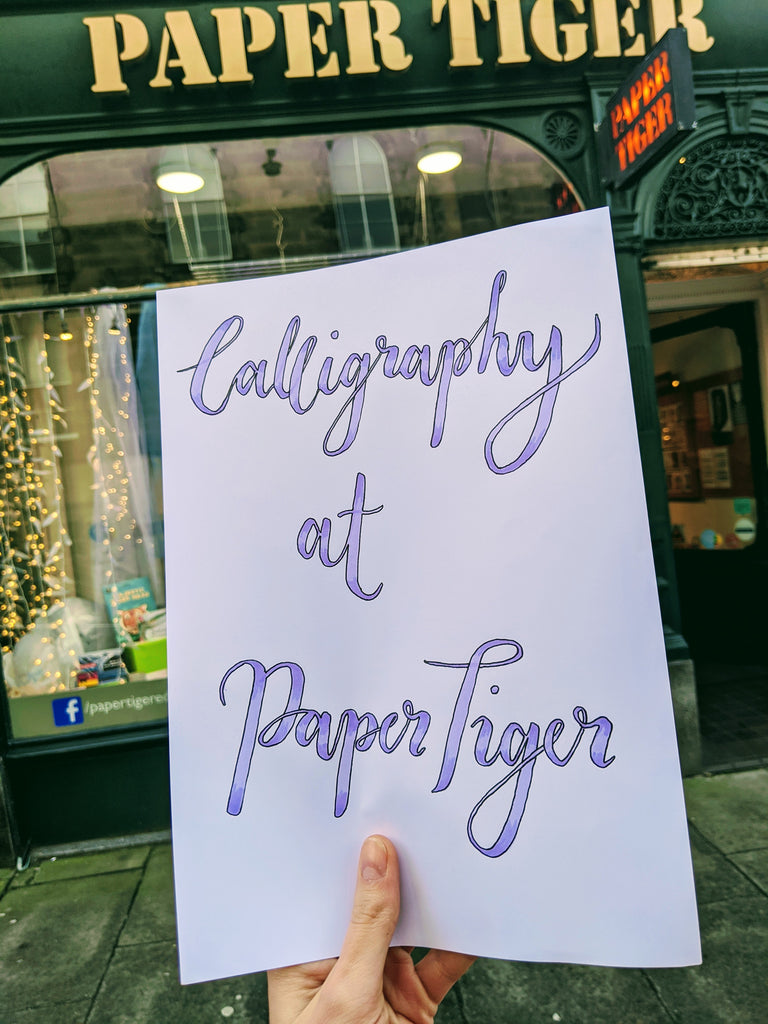 Introduction to  Modern Calligraphy - 19th January 1.30pm