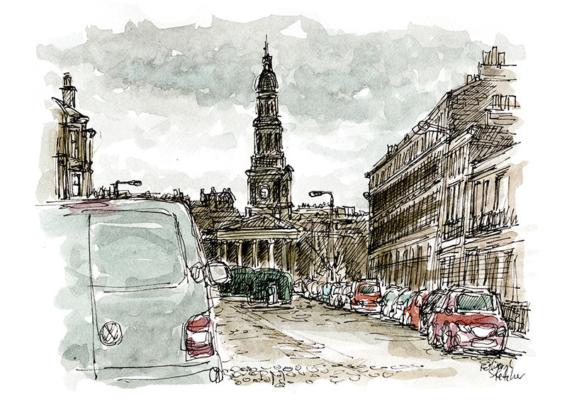 Moleskine Christmas Card Workshop with Edinburgh Sketcher 'Watercolour Your Own Christmas Cards' - 6th October 2.30pm