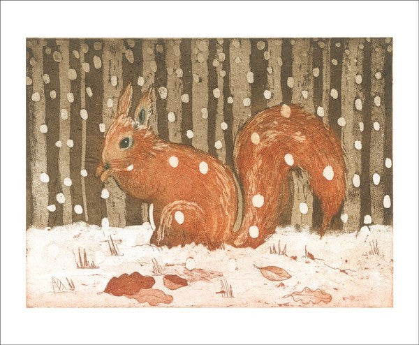 Blank-Red Squirrel