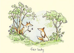 Fair Lady Card