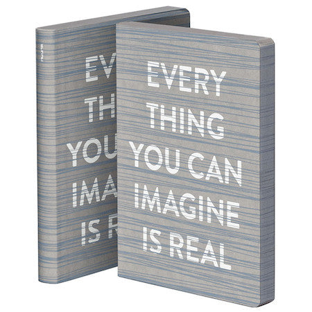 Everything You Can Imagine Large Leather Notebook