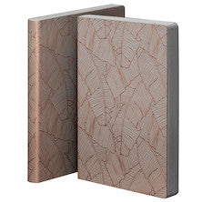 Banana Leaves Large Leather Notebook