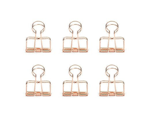 Copper Wire Clips Pk/6