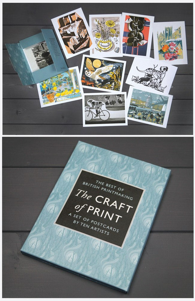 St Jude's The Craft of Print Postcard Pack