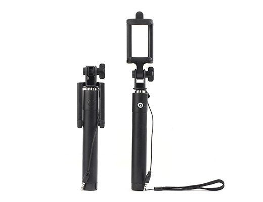 Selfie Stick Folding Black