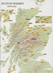 Scotch Whisky Collect and Scatch Map