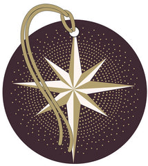 Star Gold Foil Pack of 4 Gift Tags