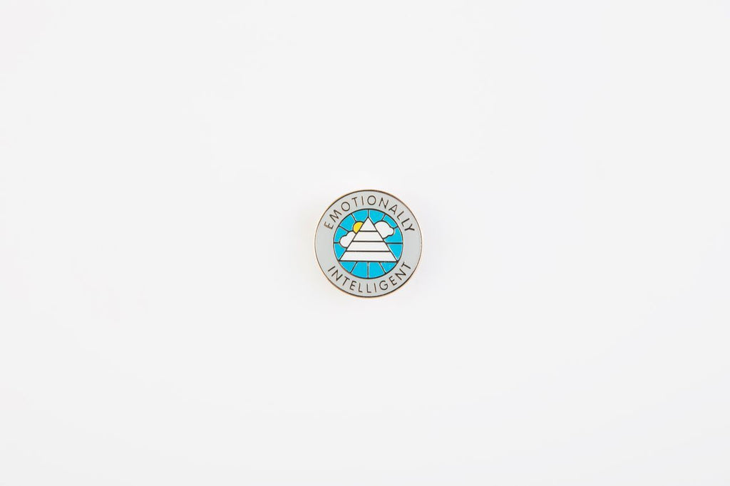 Emotionally Intelligent Pin Badge