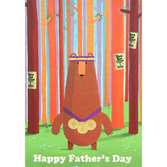 Fathers Day Card- Best Dad in The Wood