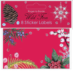 Wild Fern Sticker Labels