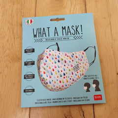 What A Mask!  Reusable Face Mask - After The Rain Design