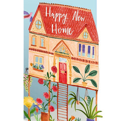 Happy New Home Laser Cut Card
