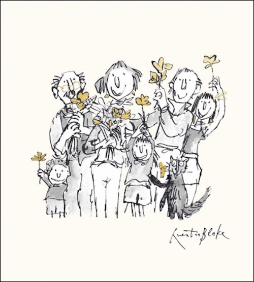 All Together Quentin Blake Card