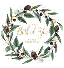 To The Both Of You Merry Christmas Foiled Card