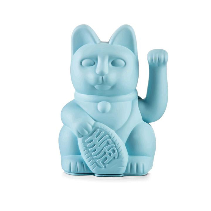 Lucky Waving Cat Blue