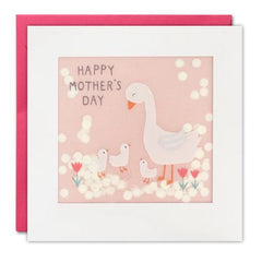 Happy Mother's Day Geese Shakies Card