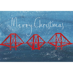 Forth Rail Merry Christmas Card