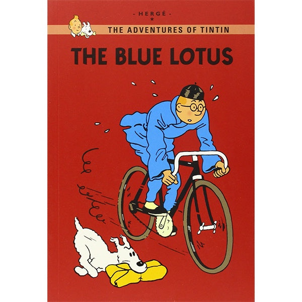 Tintin Young Reader: The Blue Lotus