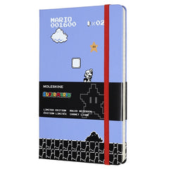 Moleskine Limited Edition Super Mario Game Ruled Notebook