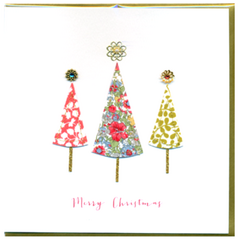 Collage Christmas Tree Card