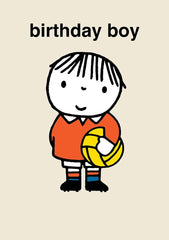 Dick Bruna Birthday Boy Card