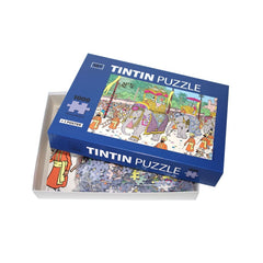 Tintin Elephant Parade  Puzzle 1000 Pieces