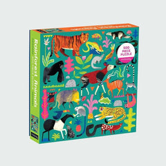 Rainforest Animals 500 Piece Jigsaw