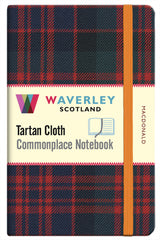 Tartan Cloth Notebook - MacDonald