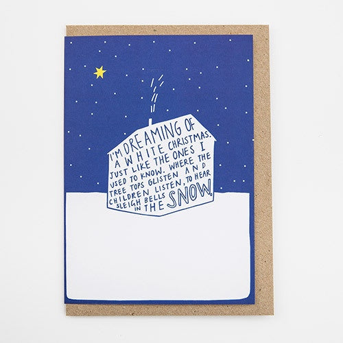 Dreaming Of A White Christmas.I M Dreaming Of A White Christmas Card