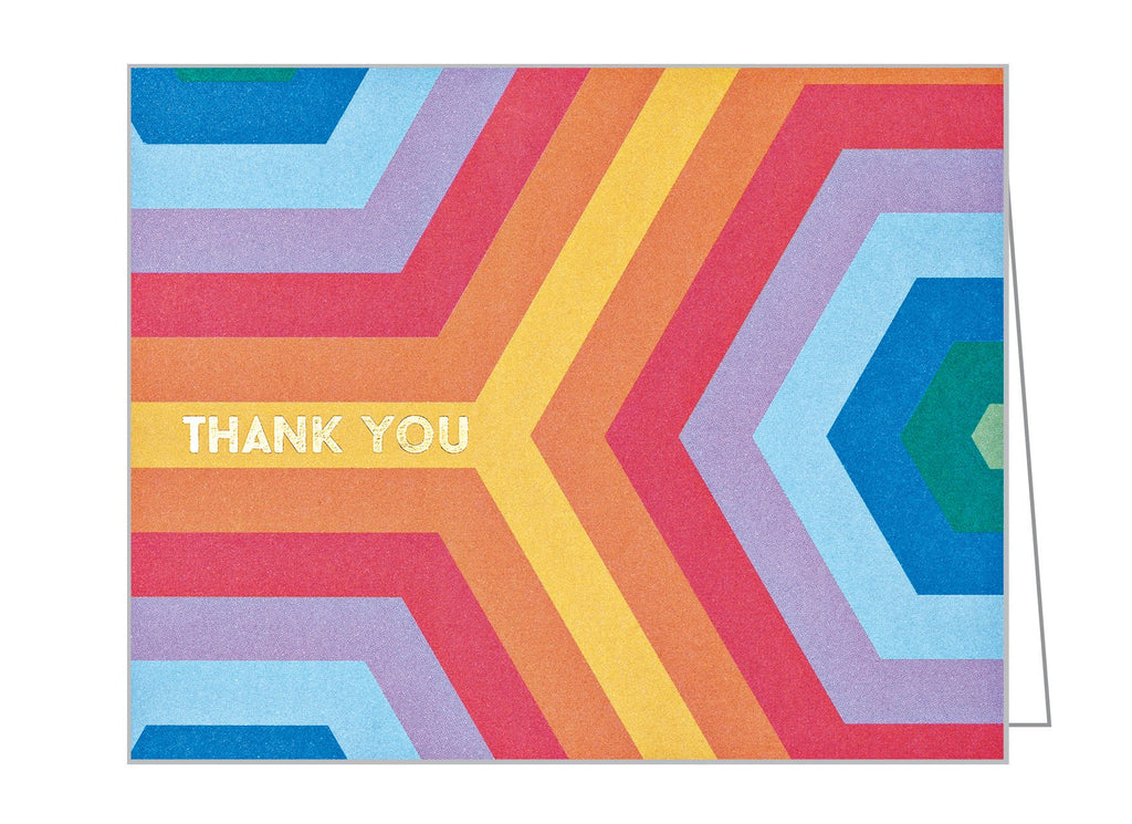 Over The Rainbow Thank You Card Pack
