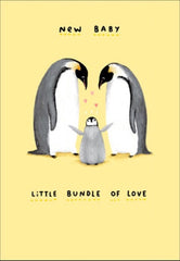 Bundle of Love New Baby Card