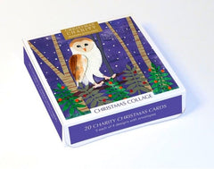 Christmas Collage Charity Box of 20 Cards