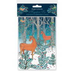 Magnificent Deer Advent Card