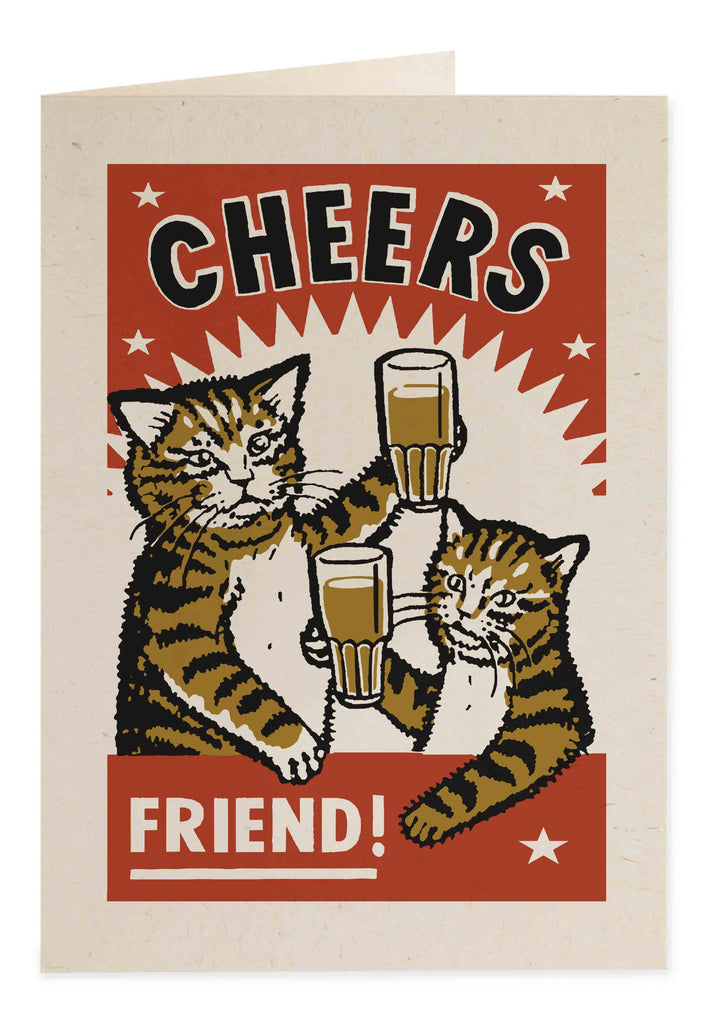 Cheers Friend Card