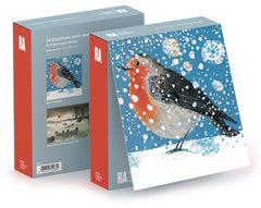 Christmas Robin Box of 24 Assorted Cards