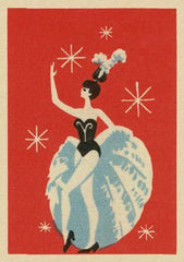 Showgirl Performer Card