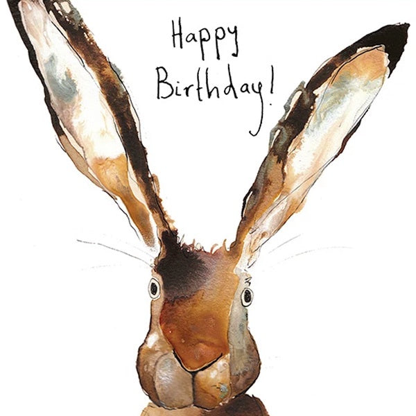 Bernard's Ears Happy Birthday Card by Catherine Rayner