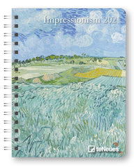Impressionism 2021 Deluxe Diary