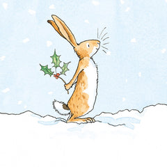 Hare And Holly Pack of 8 Cards