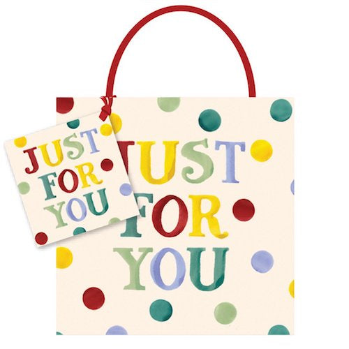 Emma Bridgewater Just For You Small Gift Bag