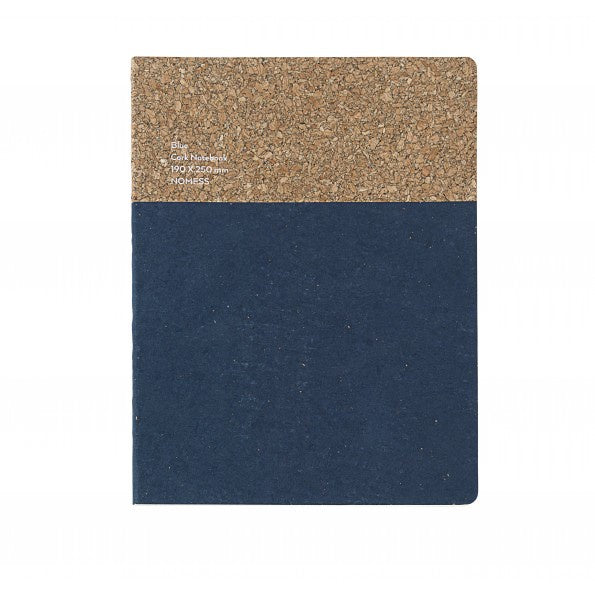Notebook Cork Blue Large