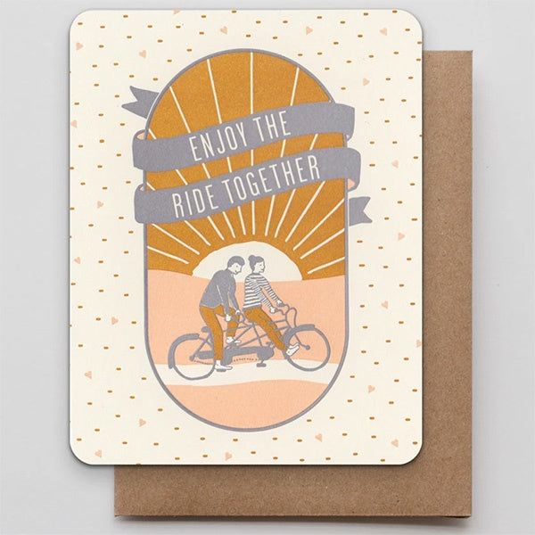 Enjoy The Ride Together Card