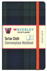 Tartan Cloth Notebook - Black Watch