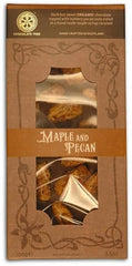 Organic Dark Chocolate Maple and Pecan 58%