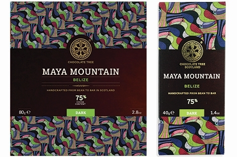 Bean to Bar Maya Mountain Belize 75% Cocoa