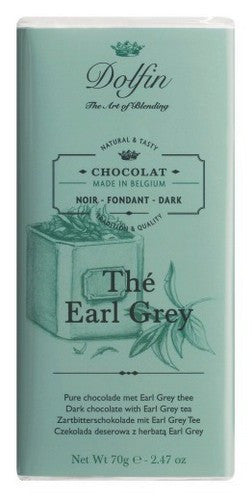 Dolfin Earl Grey Tea Dark Chocolate