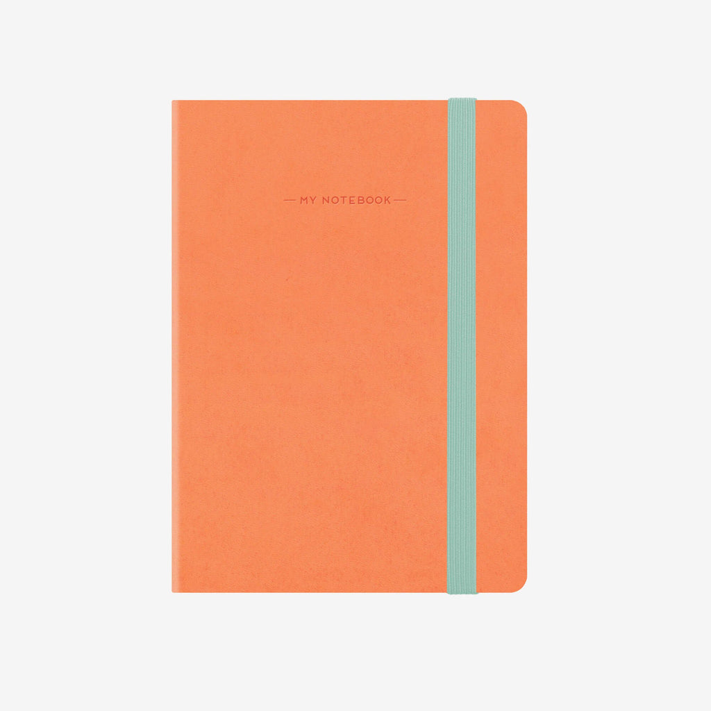 Small Plain Salmon Notebook
