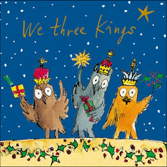Quentin Blake We Three Kings Christmas Card