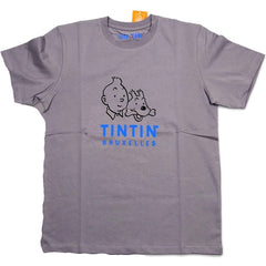 Tintin Headshot T-Shirt Blue