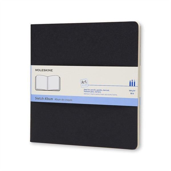 Moleskine Sketch Album Large Square Black Soft Cover